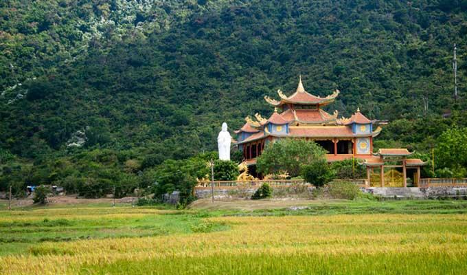Chùa Hải Tang tại Cù Lao Chàm Hội An