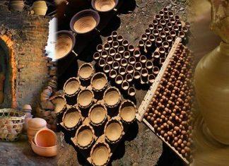 nghệ thuật làng gốm thanh hà Hội An