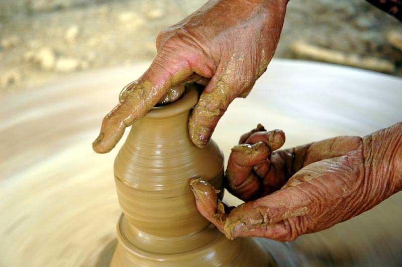 Quy trình sản xuất gốm xứ Thanh Hà