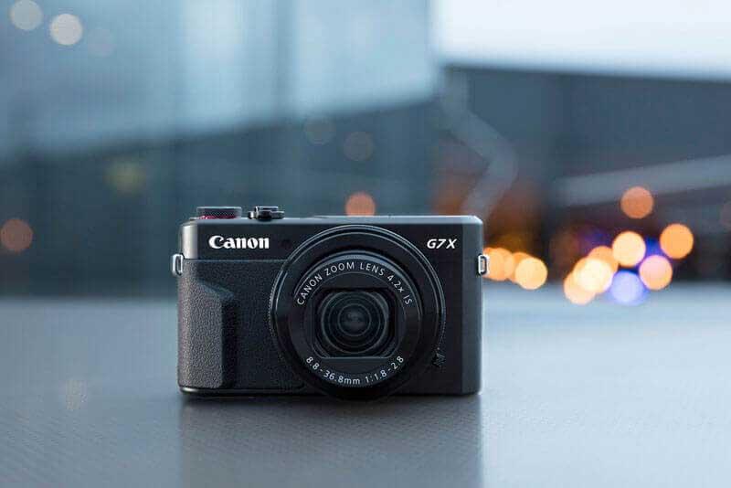 Máy ảnh du lịch Canon PowerShot G7 X Mark II