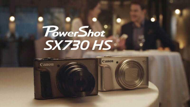Máy ảnh du lịch Canon PowerShot SX730HS