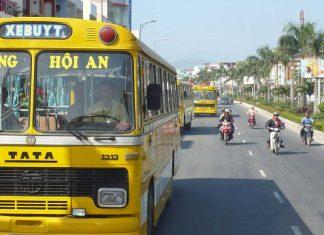 giá vé tuyến xe bus đà nẵng hội an
