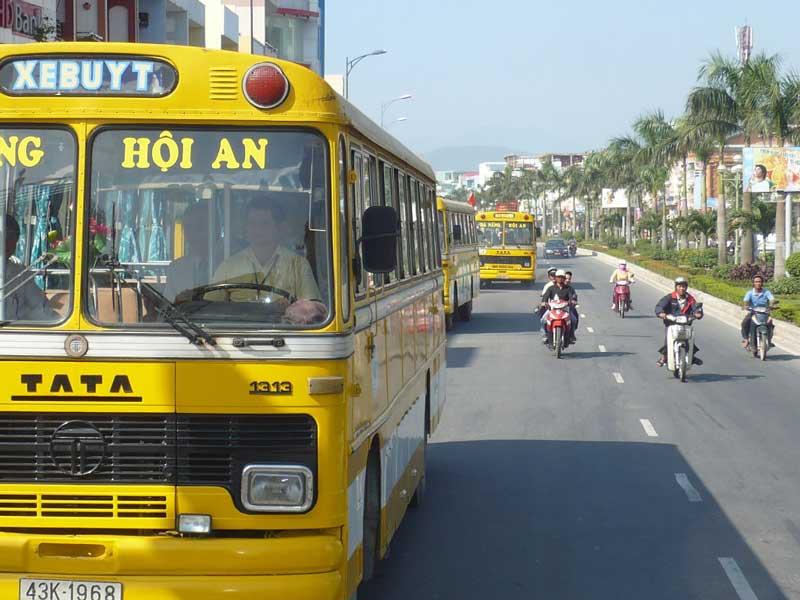 Lộ trình tuyến xe bus Đà Nẵng - Hội An