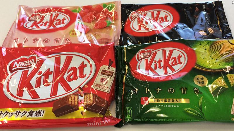 Hàng bánh kẹo Nhật Bản