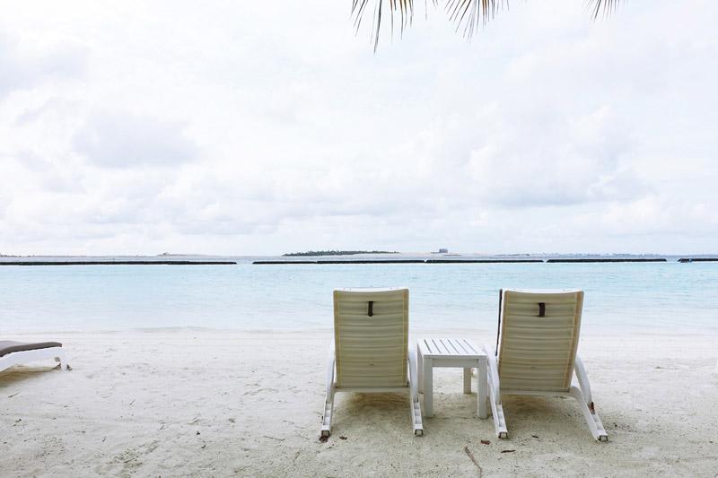 chú ý đến thời tiết tại Maldives