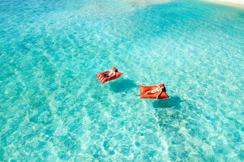 khung cảnh lãng mạn cho các cặp đôi đến Maldives