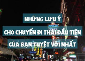 Kinh nghiệm du lịch Thái Lan lần đầu
