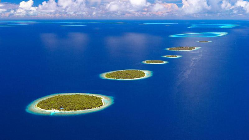 Thiên đường du lịch biển Maldives
