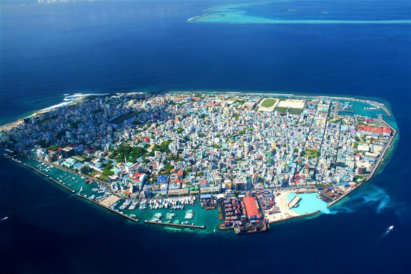 thủ đô Ma-lé của Maldives