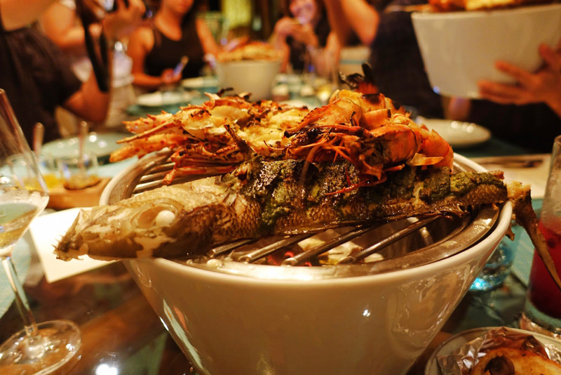 thức ăn tại Maldives