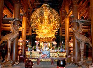 Kiến trúc chùa bái đính xây hết bao nhiêu tiền