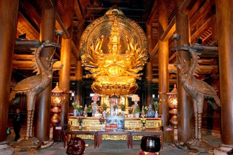 Kiến trúc chùa Bái Đính – xây hết bao nhiêu tiền?
