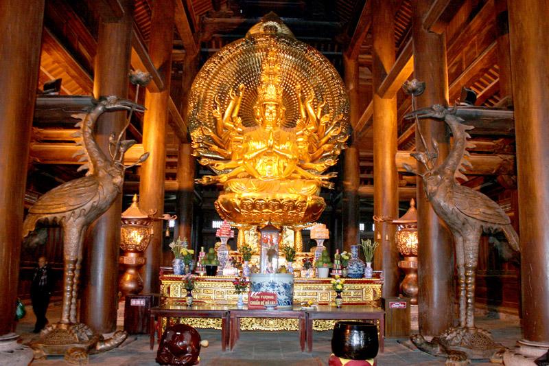 kiến trúc chùa Bái Đính