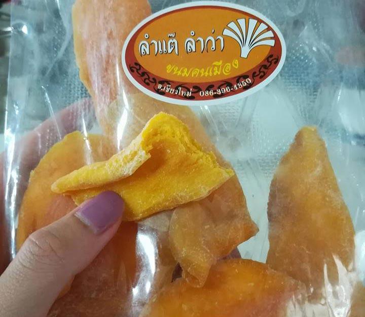 Soài sấy dẻo quà du lịch Thai Lan
