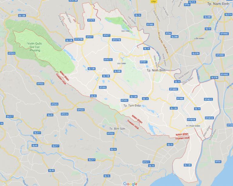 Tỉnh Ninh Bình có bao nhiêu huyện, thành phố, thị xã, phường?