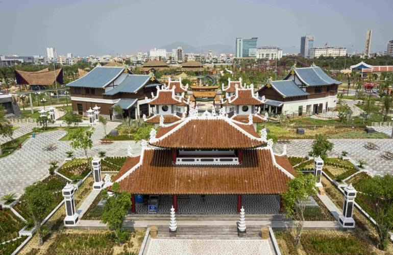 Chòi Vọng Cảnh Công viên Châu Á Đà Nẵng