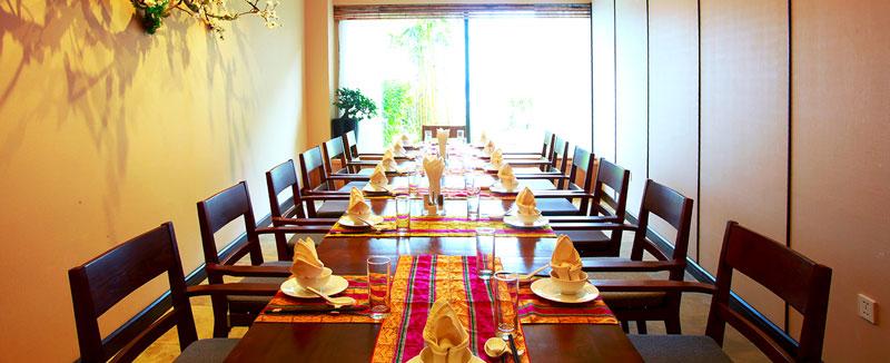 Phòng ăn VIP tại serena resort