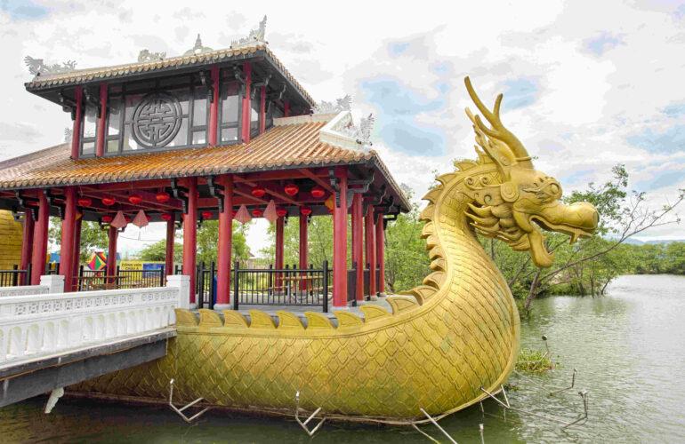 Thuyền rồng Asia Park Đà Nẵng