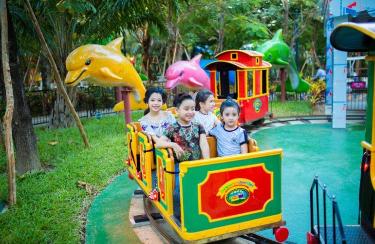 Trò chơi Happy Choo Choo công viên Châu Á