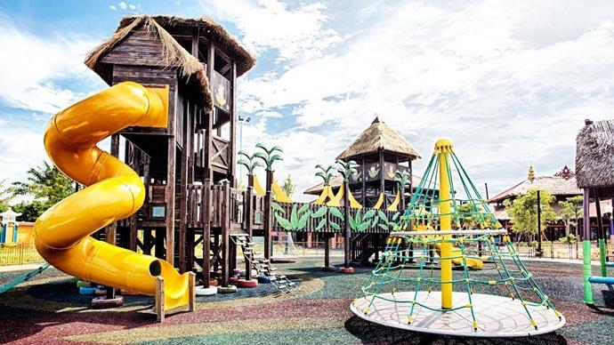 Trò chơi Tree House Playland Công viên Châu Á