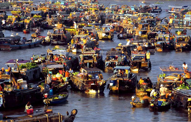 Chợ nổi cà mau - khám phá nét văn hóa riêng