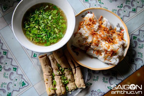 đặc sản bánh cuốn Yên Minh