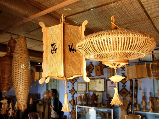 làng nghề đan lát bao la ở huế