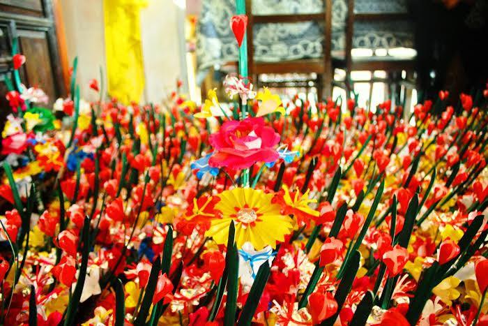 làng nghề hoa giấy Thanh Tiên ở Huế