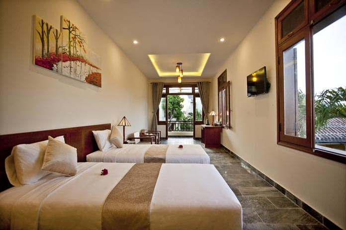 JUNIOR SUITE (40SQM) t&t villa hoi an