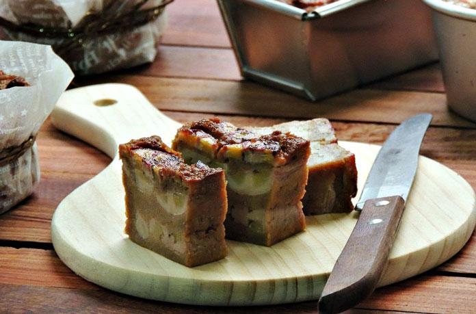 Bánh chuối Lục Yên đặc sản Mù Cang Chải