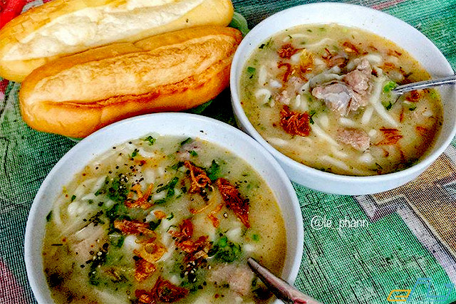 Kinh nghiệm đi du lịch Vinh: bánh canh vinh