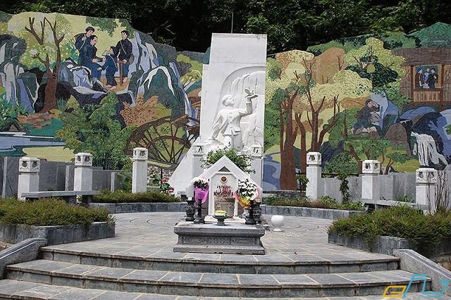 Khu di tích anh Kim Đồng - điểm du lịch nổi tiếng ở Cao Bằng