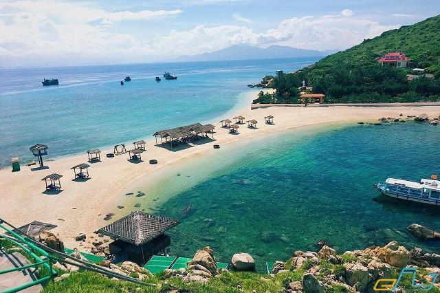 thiên đường bãi tắm đôi Hòn Nội Nha Trang