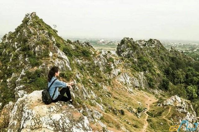 cảnh thiên nhiên đẹp ở núi trầm