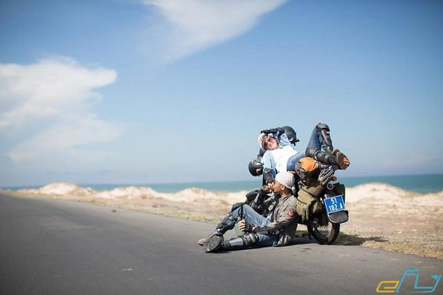 Du lịch trại cừu Yên Thành Nghệ An: đi bằng xe máy