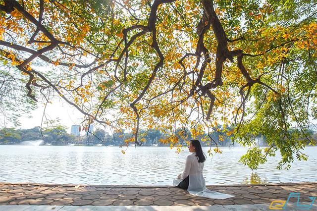 hà nội và các địa điểm ưu thích 2018 tại hồ gươm