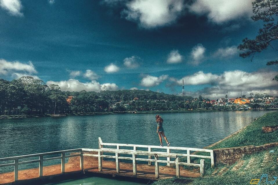 địa điểm du lịch gần nhau ở Đà Lạt: tuyến du lịch nội thành quanh hồ xuân hương