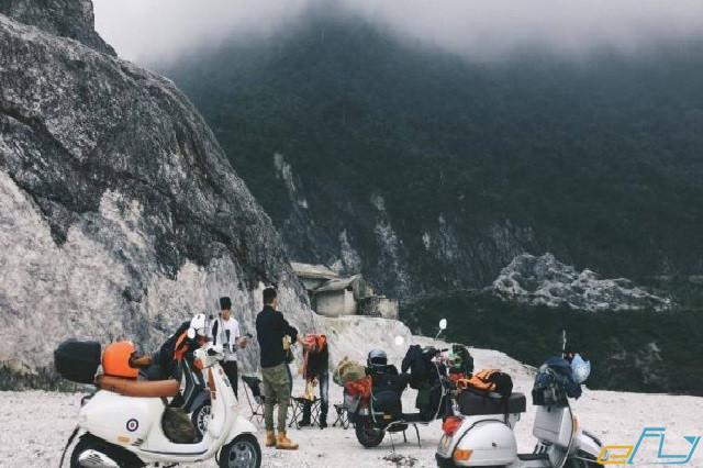 Kinh nghiệm du lịch Hòa Bình di chuyển bằng xe máy