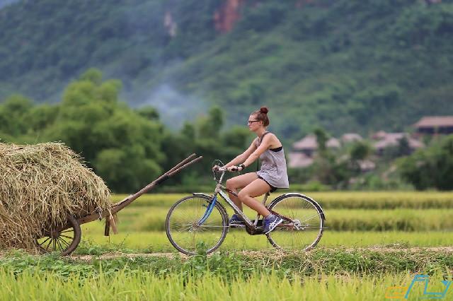 Kinh nghiệm du lịch Mai Châu  bằng xe đạp