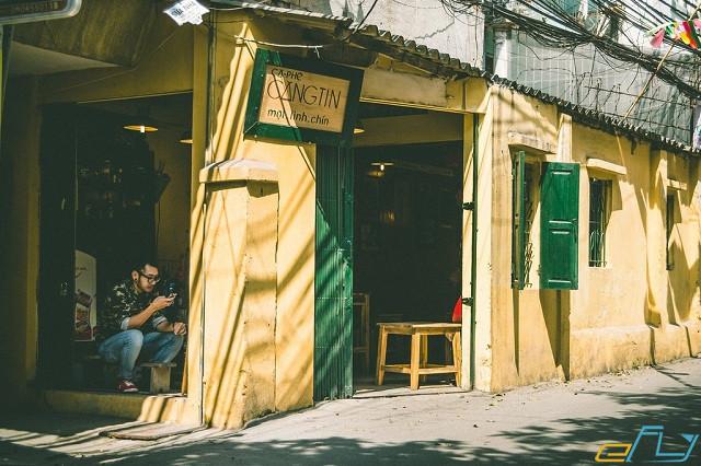 quán cà phê cổ Hà Nội:  Cafe Căng tin 109