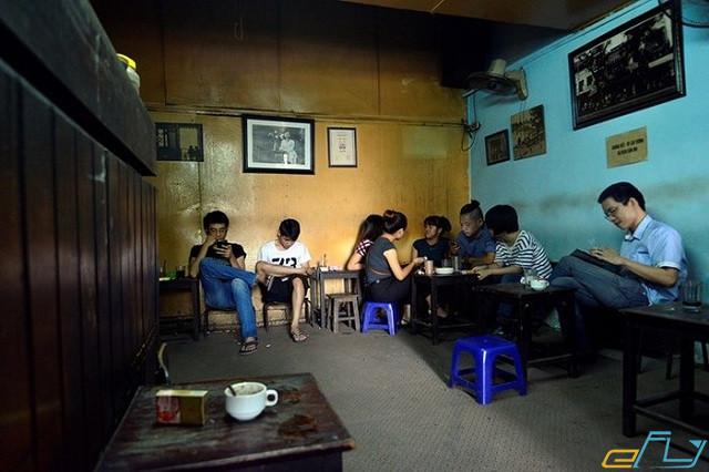 quán cà phê cổ Hà Nội:  Cafe Đinh
