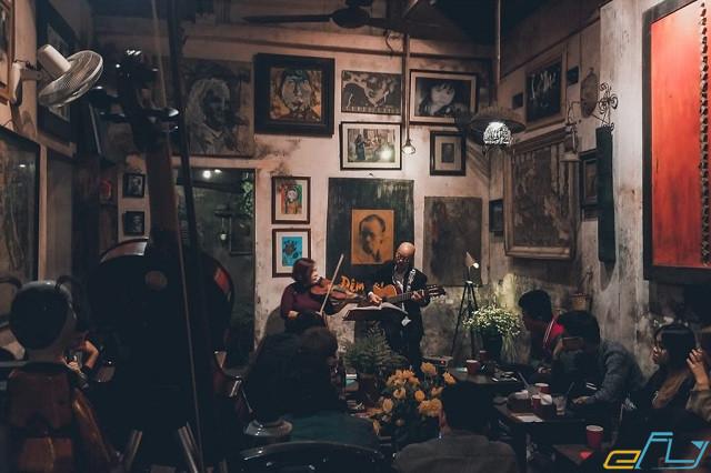 quán cà phê cổ Hà Nội: Cafe Cuối Ngõ