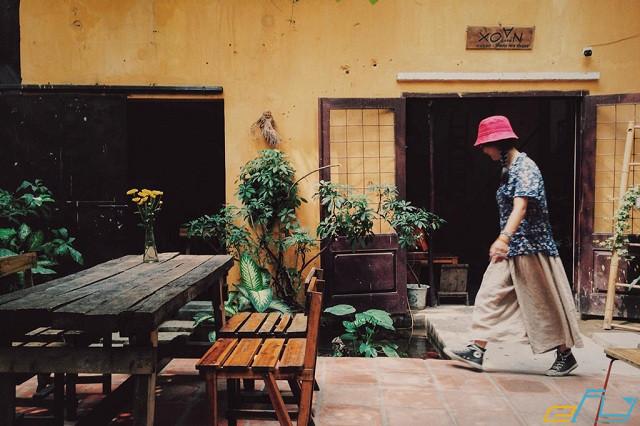 quán cà phê cổ Hà Nội:  Cafe Xoan