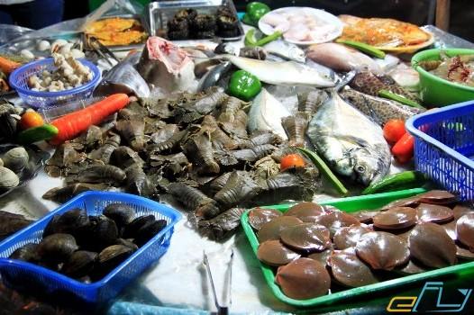 hải sản ngon ở phú quốc