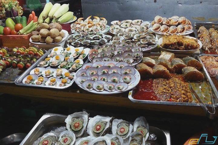 hải sản tươi ngon cực phẩm phủ quốc