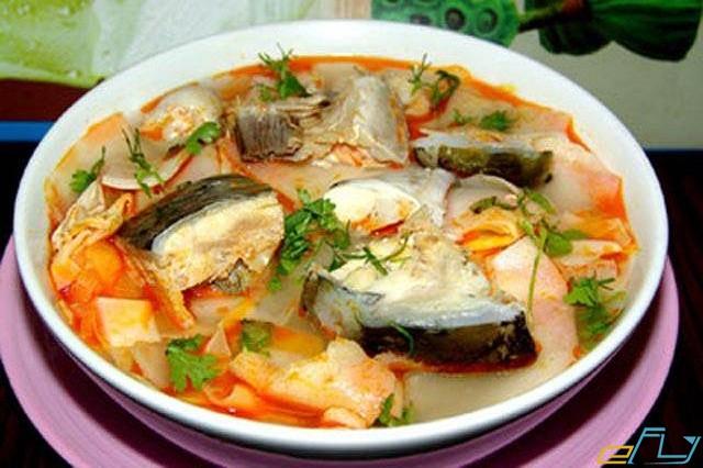 canh chua cá bóp món ăn đặc trưng nam du