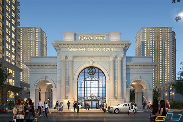 hà nội và các địa điểm ưu thích: royal city