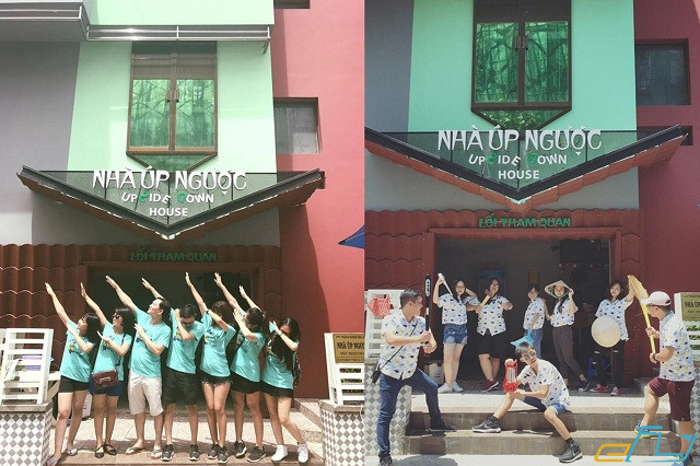 Sống ảo đủ kiểu tại 3 ngôi nhà úp ngược ở Việt Nam