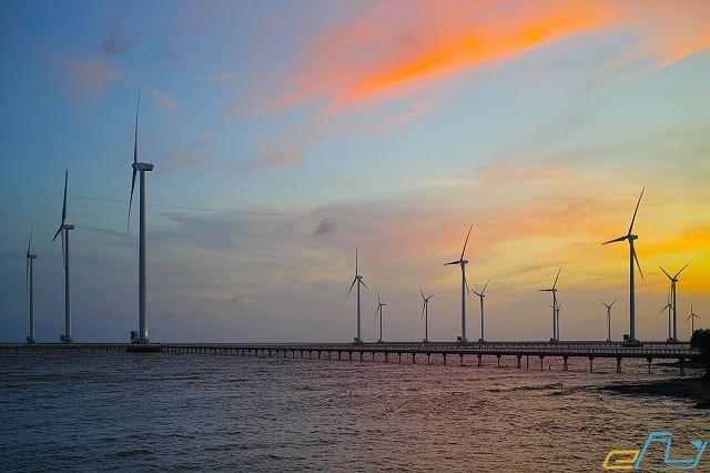 địa điểm du lịch ưu thích cần thơ nhà máy điện gió bạc liêu