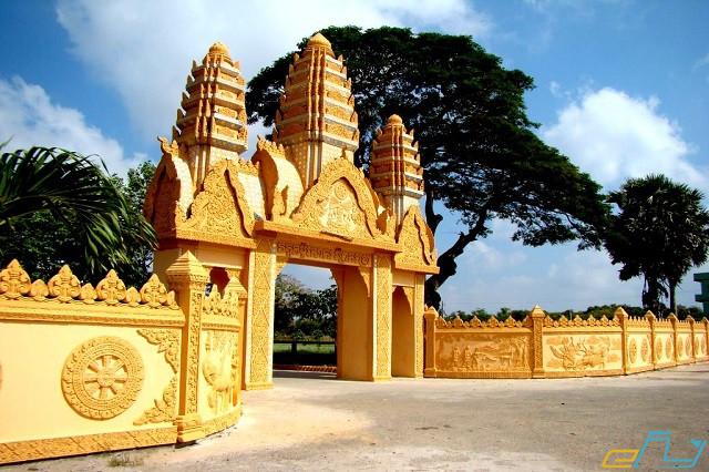 điểm đến du lịch bạc liêu: chùa xiêm cán